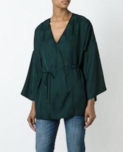 Green Kimono Jacket