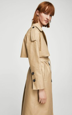12 Pieces for a Hepburn-inspired Wardrobe - Mango Double breasted trench - $149.99