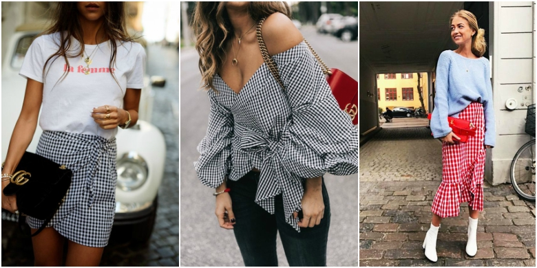 Gingham trend 2017