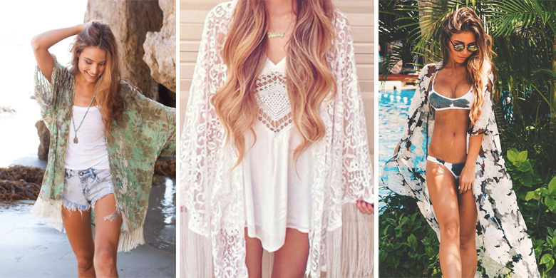 Kimono Jacket Outfit Inspiration Spring Summer