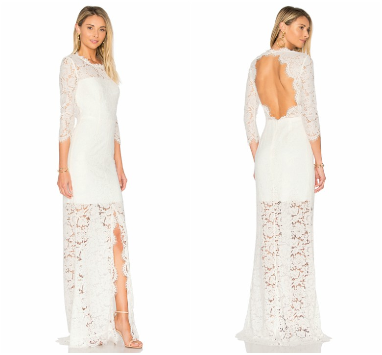 Revolve - Rachel Zoe - ALL OVER LACE GOWN