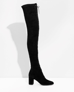 & Other Stories Over The Knee Lace-Up Boots