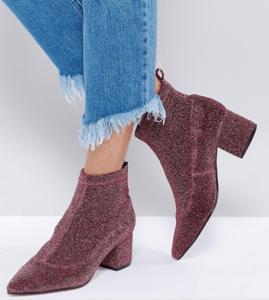 ASOS RUNWAY Sock Boots
