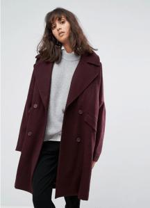 ASOS Weekday Cocoon Coat
