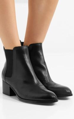 Net-a-Porter rag & bone Walker leather chelsea boots - black chelsea boots