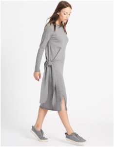 Marks and Spencer Pure Wool Tie Side Jumper Dress