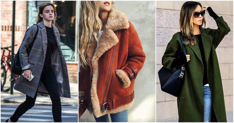 Three women wearing winter coats