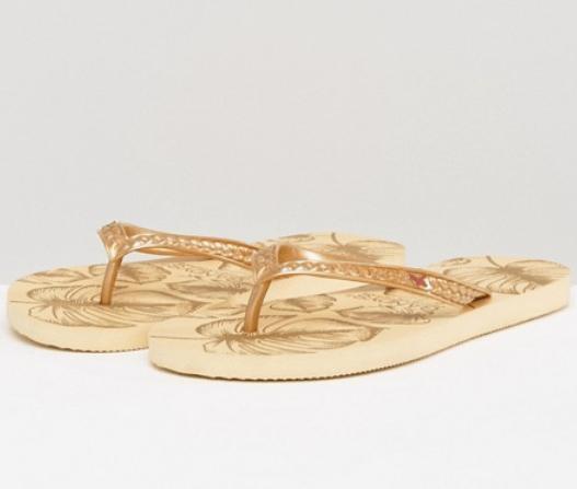 ASOS Gandys Slim Line Flip Flops
