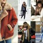 Celebrity Trend – Shearling Jackets & Coats