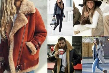 women wearing sherling jackets