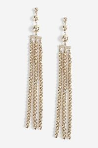 Topshop Ball Drop Earrings