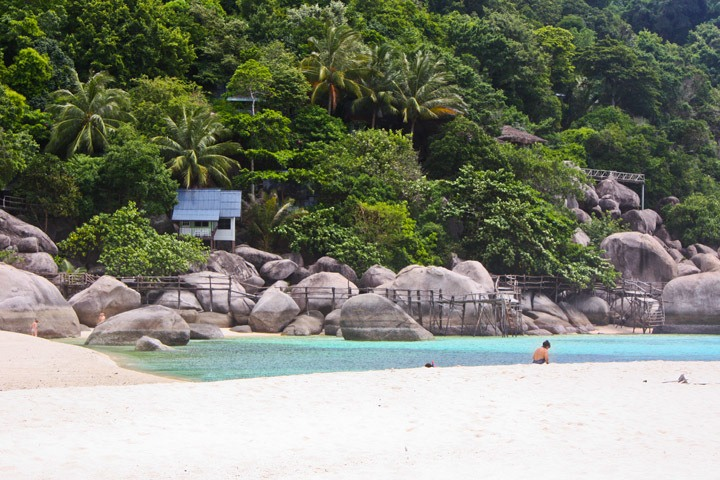 Beach on Koh Nang Yuan