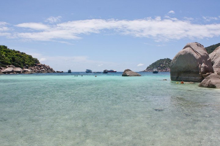 Snorkeling on Koh Nang Yuan