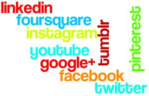 top 9 socialnetworks voor business wordle
