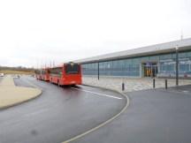Hamburg-Kassel: Hinfahrt Teil 1 mit der Buslinie 100 vom Kassel Airport nach Kassel