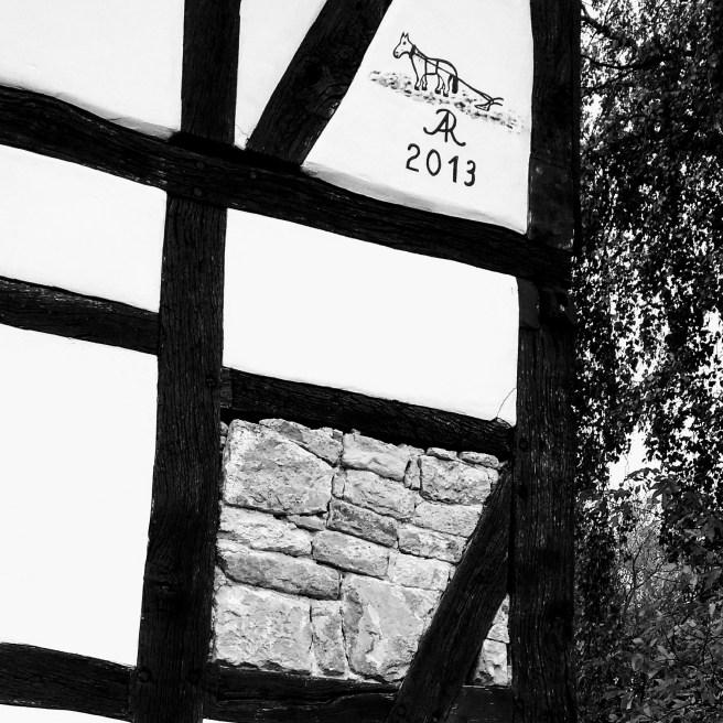 Restauration Wohnhaus 2013 - Pferd