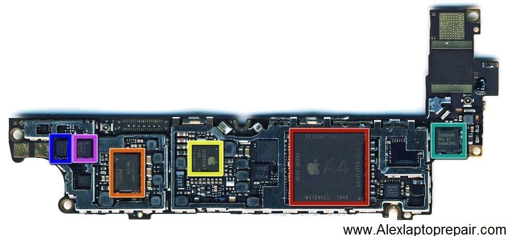 Iphone 4 Schematics Diagram
