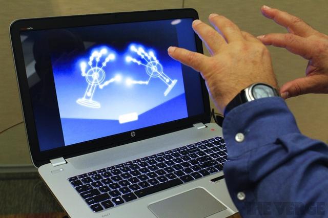 HP's new Envy 17 Leap Motion SE