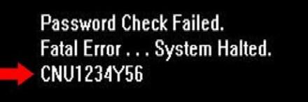 خدمة فك باسورد اللاب توب اون لاين BIOS Master Password