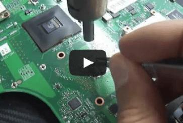 [فيديو] إصلاح مشاكل أجهزة اللاب توب التوشيبا وكيفية تغيير الـ NEC TOKIN
