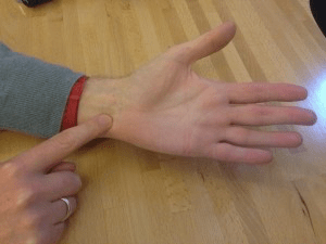 Acupressure for stress – Shen Men
