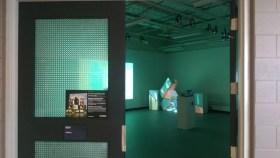 Entrance to exhibition