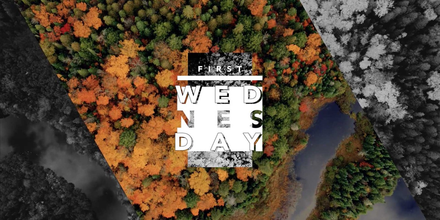 First Wednesday Graphic