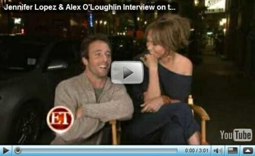 Alex and JLo – On Set Video