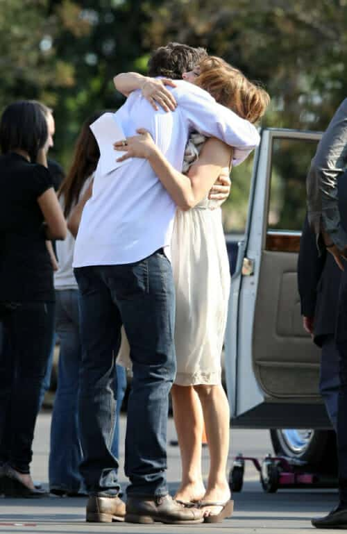 The Back up PLan Set with Alex O'Loughlin and Jennifer Lopez