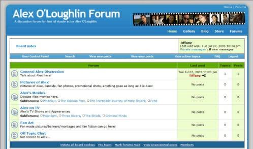 alex forum