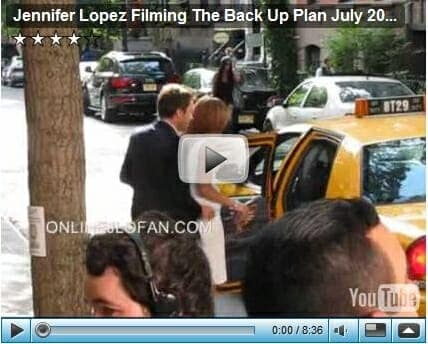 Video Footage of the Taxi Scene on The Backup Plan