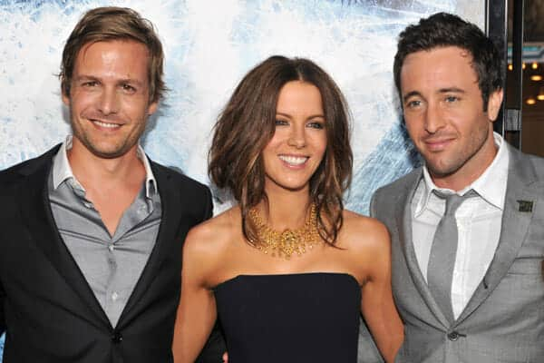 Alex O'Loughlin, Kate Beckinsale, and Gabriel Macht at the WHiteout Premiere