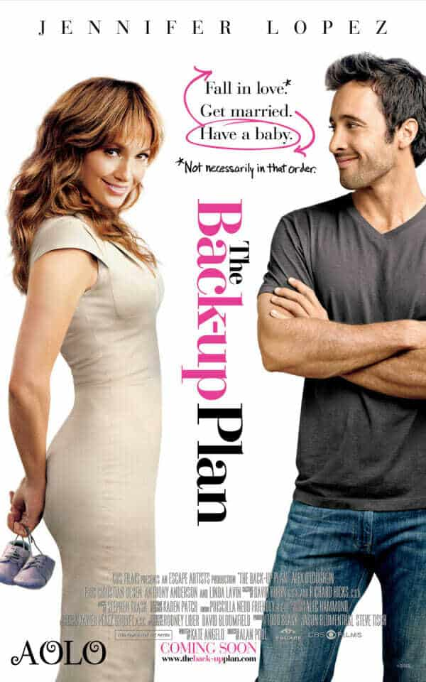 The Back-up Plan Movie Poster
