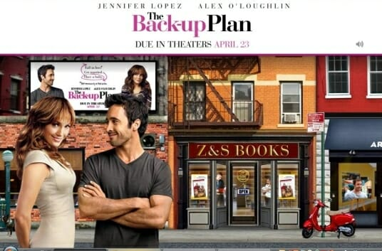 The Back-Up Plan Movie