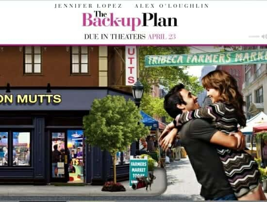 The Back-up Plan Movie Web Site