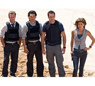 Hawaii Five-O Cast Photo
