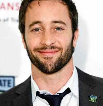 Alex O'Loughlin Donate Life Person of the Year 2010