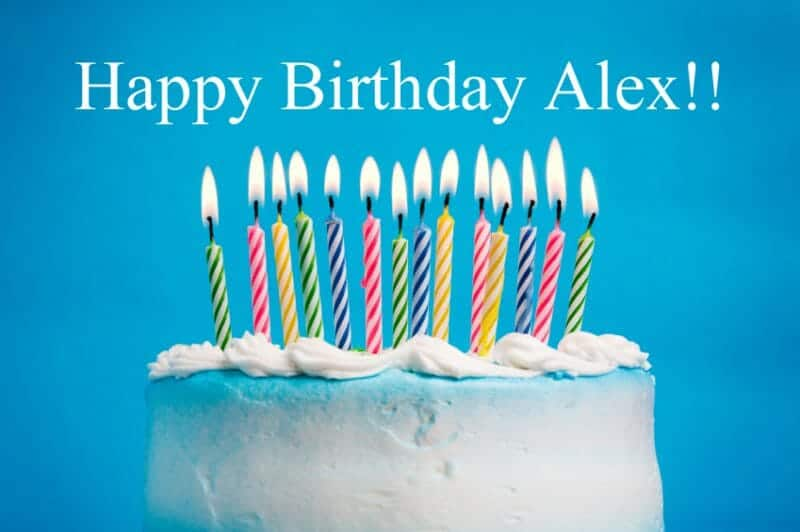 Birthday Cake Alex