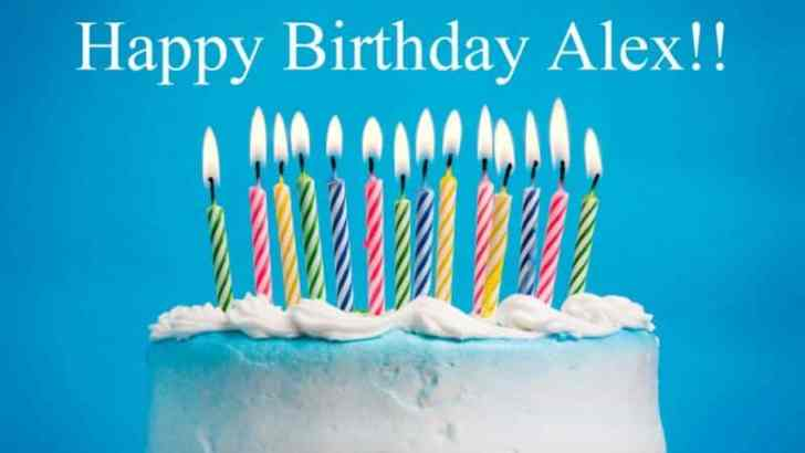 Happy Birthday Alex!!