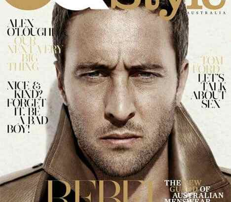GQ Style Alex O'Loughlin Cover