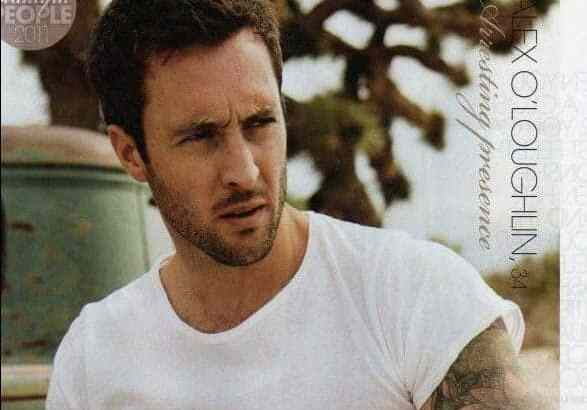Alex O'Loughlin – Who Magazines Most Beautiful People 2011