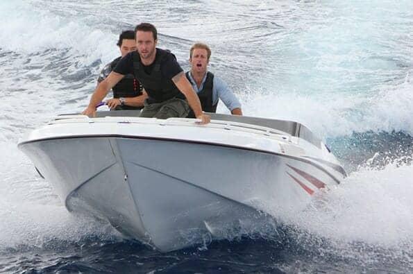 Hawaii Five-O Set Photos