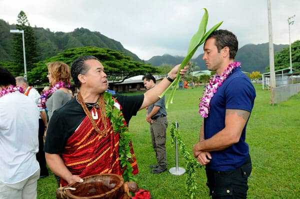 Alex O'Loughlin at the #H50 Season Three Blessing