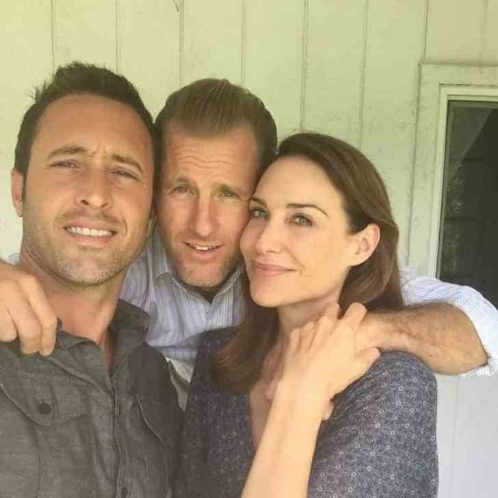 Claire Forlani and Alex O'loughlin