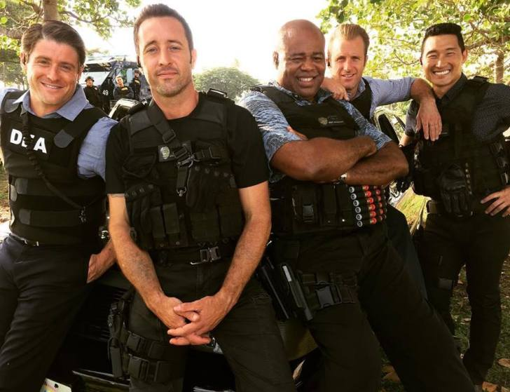 Hawaii Five O men