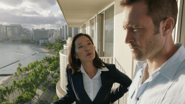 steve mcgarrett and new governor