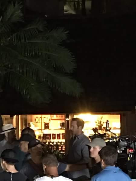 Alex O'Loughlin at HIlton Hawaiian Village