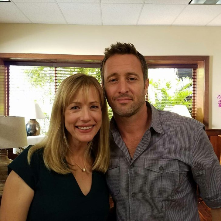 Alex O'loughlin and Cathy Deprume