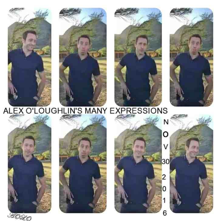 alex o'loughlin funny expressions