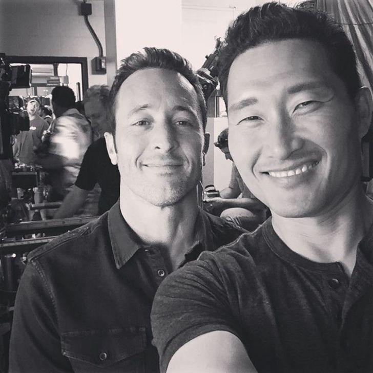 Daniel Dae Kim and Alex O'Loughlin